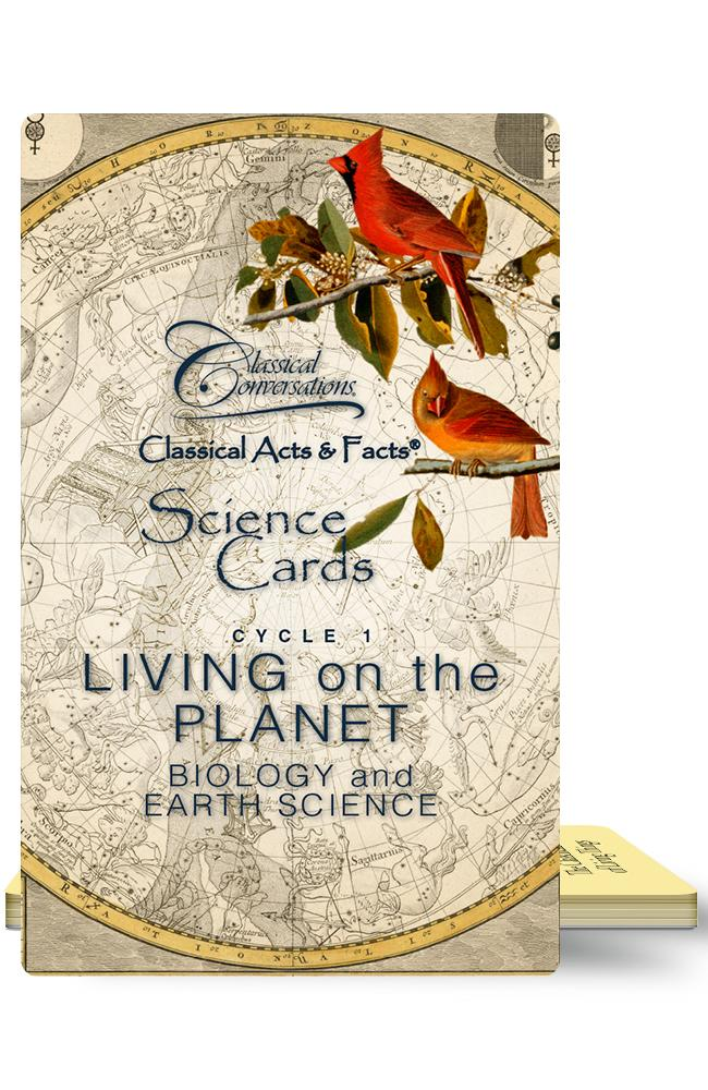 CLASSICAL ACTS & FACTS® SCIENCE CARDS, CYCLE 1