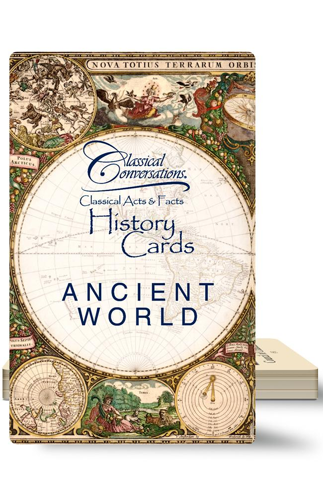 CLASSICAL ACTS & FACTS® HISTORY CARDS: ANCIENT WORLD