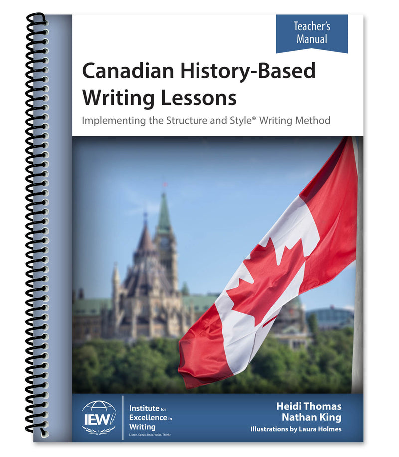 IEW CANADIAN HISTORY-BASED WRITING (TEACHER) 2nd Ed