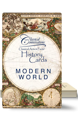 CLASSICAL ACTS & FACTS® HISTORY CARDS: MODERN WORLD