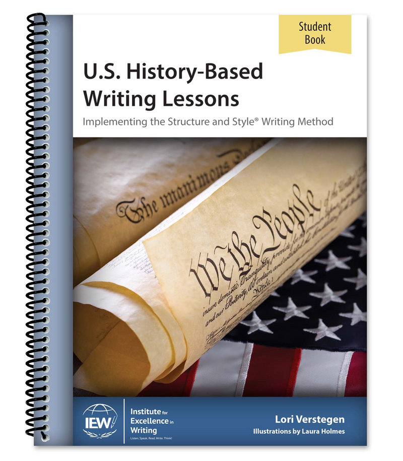 IEW U.S. HISTORY-BASED WRITING (LEVEL 1 STUDENT)