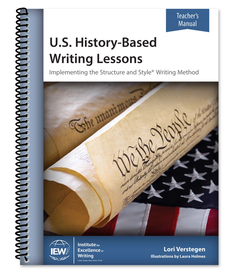 IEW U.S. HISTORY-BASED WRITING (LEVEL 1 TEACHER)