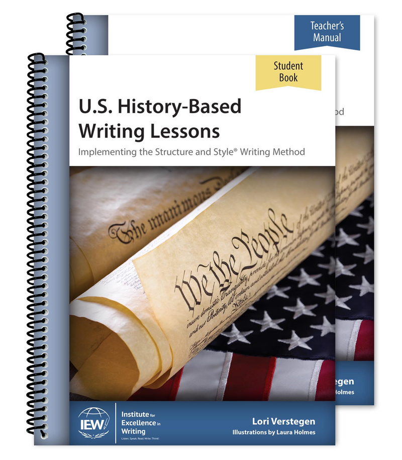 IEW U.S. HISTORY-BASED WRITING (COMBO)