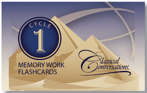 MEMORY WORK FLASHCARDS, CYCLE 1