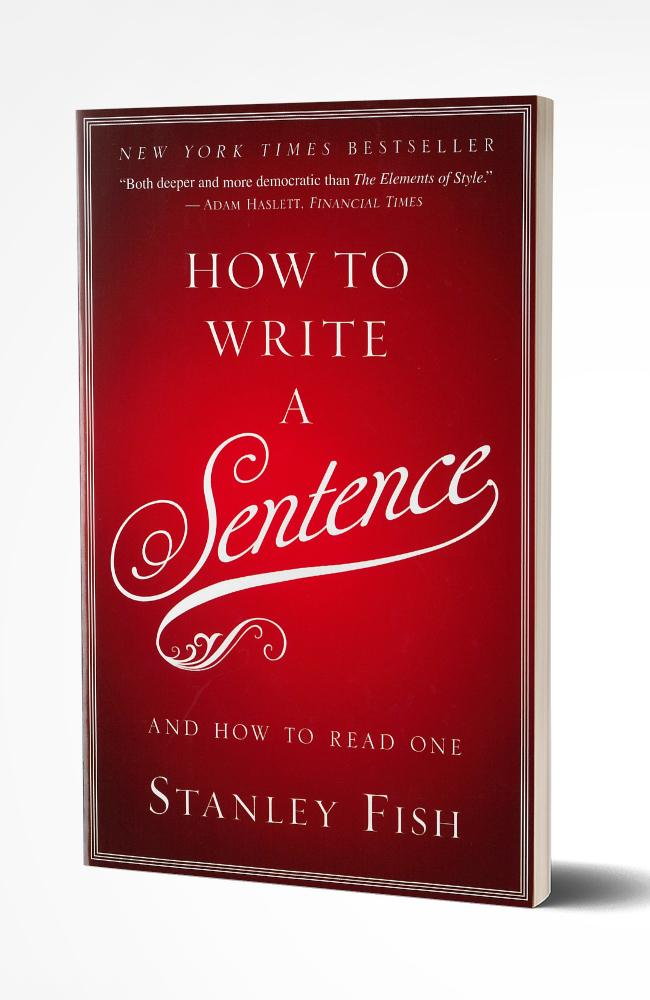 HOW TO WRITE A SENTENCE - WHILE SUPPLIES LAST