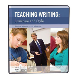 IEW TEACHING WRITING STRUCTURE AND STYLE (SYLLABUS)