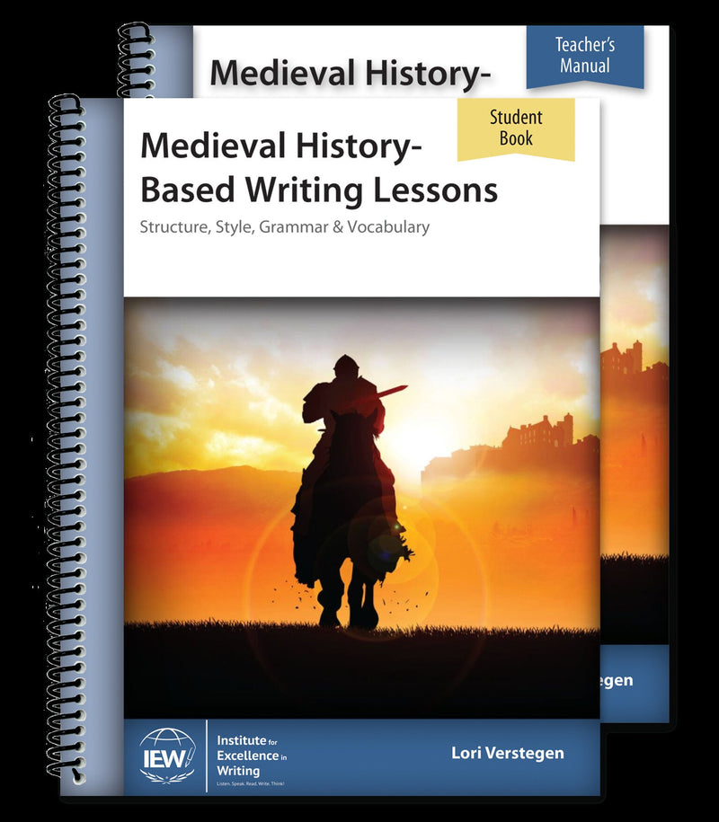 IEW MEDIEVAL HISTORY-BASED WRITING (COMBO)