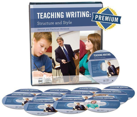 IEW Teaching Writing Structure and Style - Syllabus, DVD & Premium Content