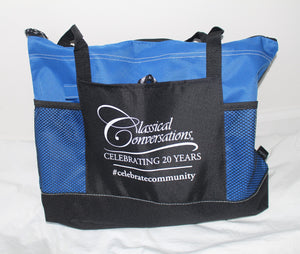CC Zippered Tote bag - WHILE SUPPLIES LAST