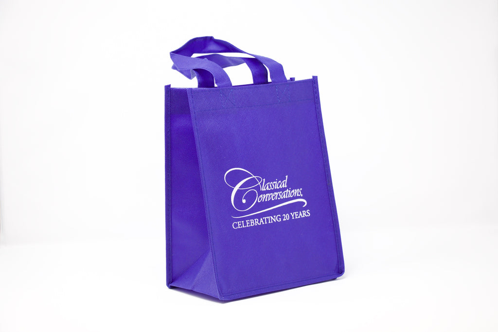 Cloth Gift Bag- Blue
