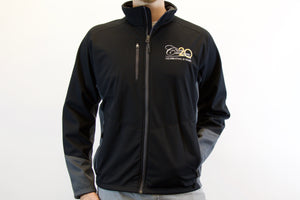Men's Port Authority Vertical Soft Shell Jacket- Magnet Gray - Hurry Quantities Limited!!