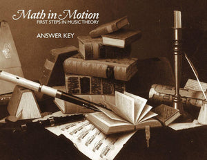 MATH IN MOTION ANSWER KEY