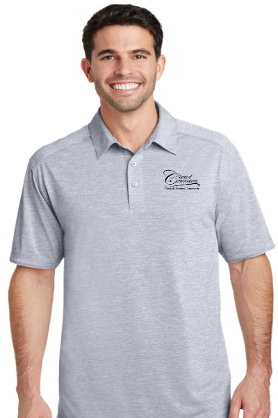 Men's CC Polo Shirt- Gray - While Supplies Last