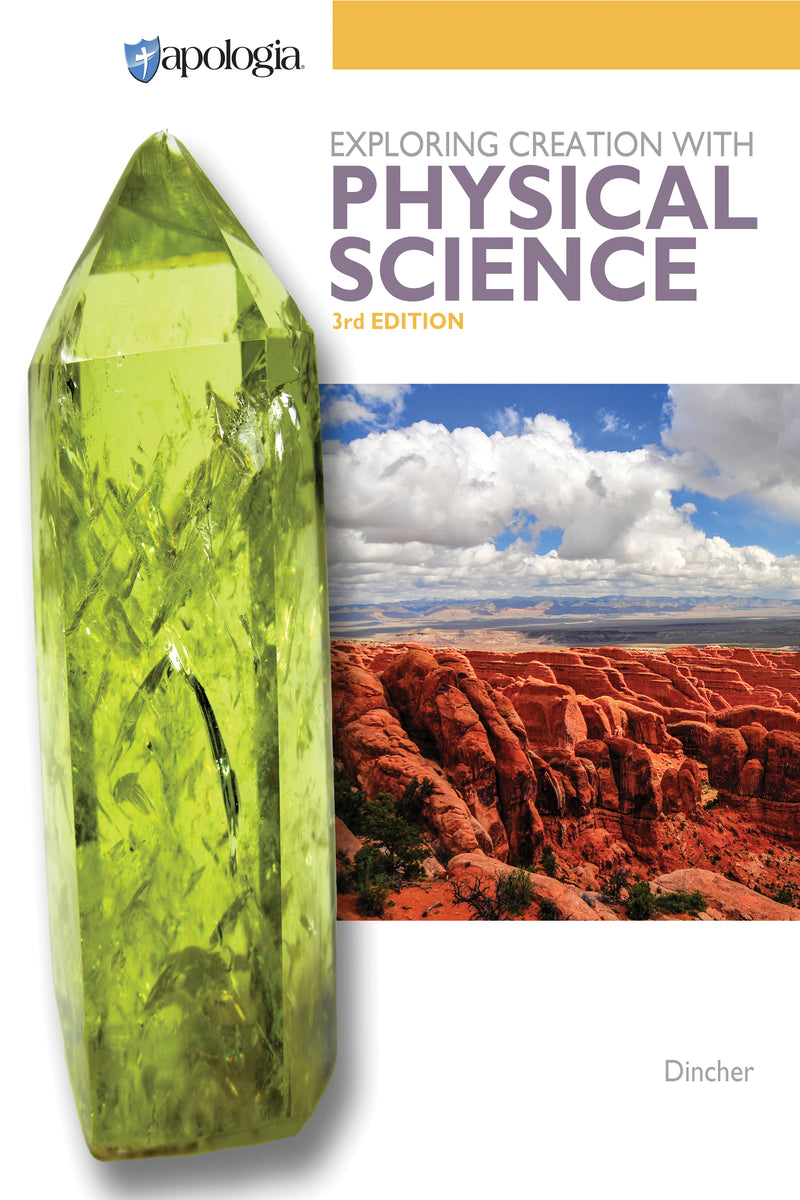 EXPLORING CREATION WITH PHYSICAL SCIENCE (TEXT) - limited stock at this time