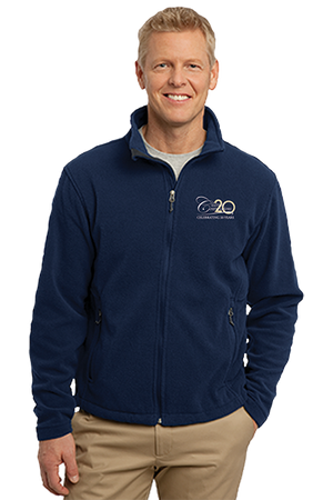 Men's Port Authority Value Fleece Jacket- True Navy - While Supplies Last
