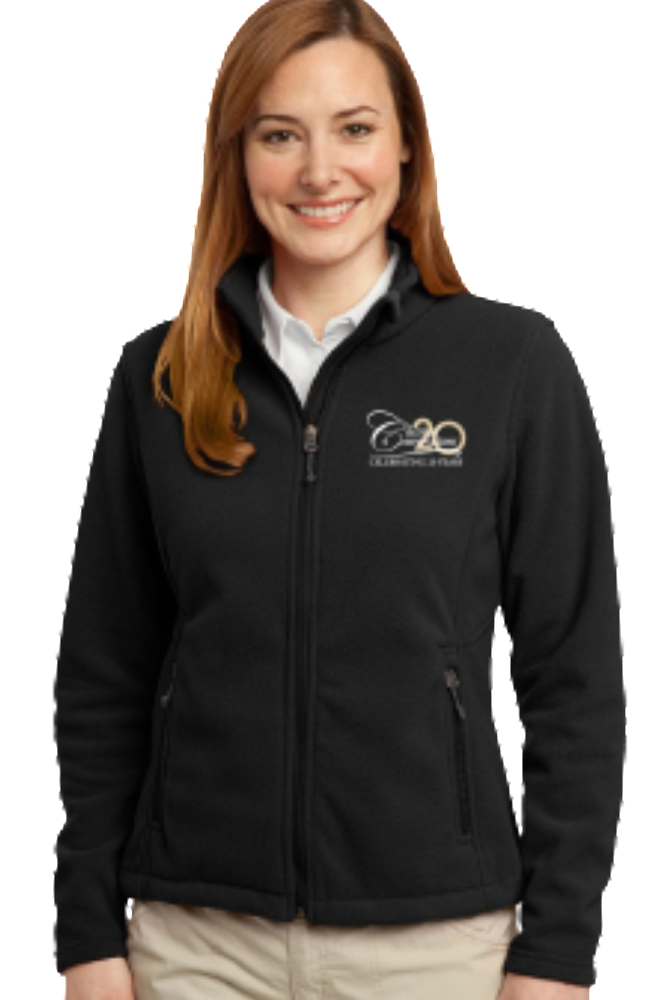 Women's Port Authority Value Fleece Jacket-Black