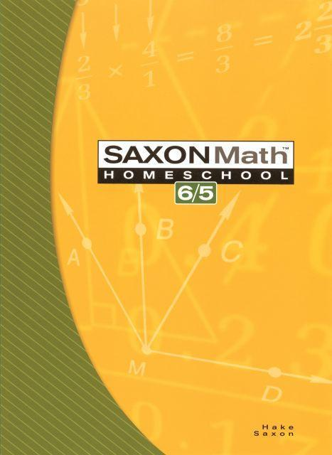 SAXON 6/5 HOMESCHOOL KIT
