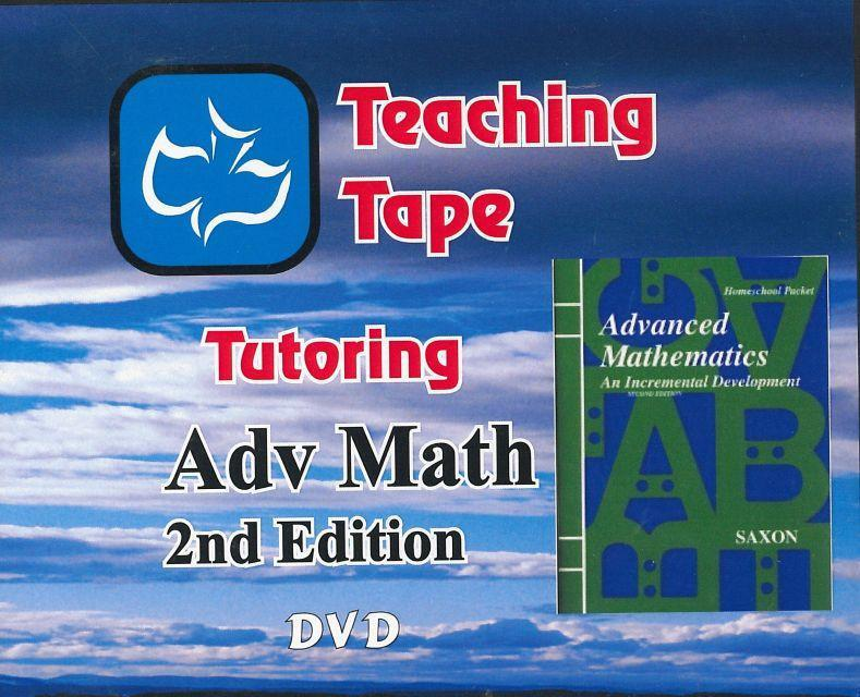 SAXON ADVANCED MATH DVD SET - WHILE SUPPLIES LAST
