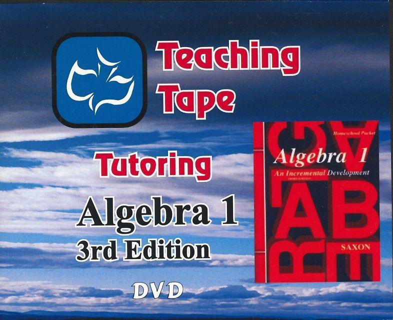 SAXON ALGEBRA 1 DVD SET - WHILE SUPPLIES LAST