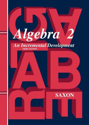 SAXON ALGEBRA 2 HOMESCHOOL KIT