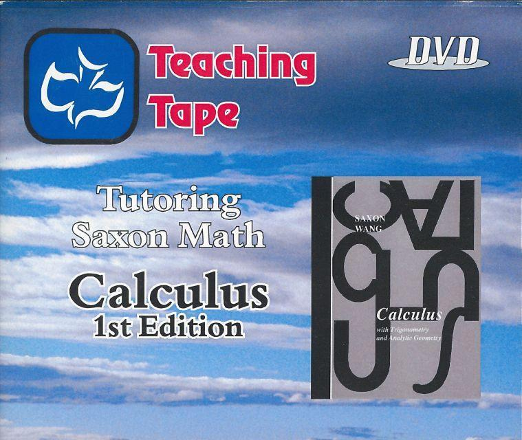 SAXON CALCULUS DVD SET - WHILE SUPPLIES LAST