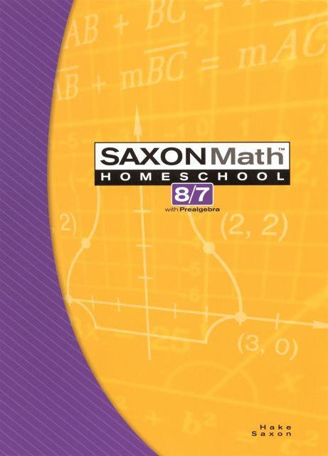 SAXON 8/7 HOMESCHOOL KIT