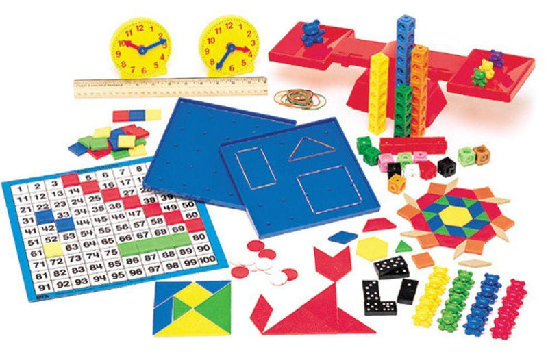 SAXON K-3 MANIPULATIVES KIT