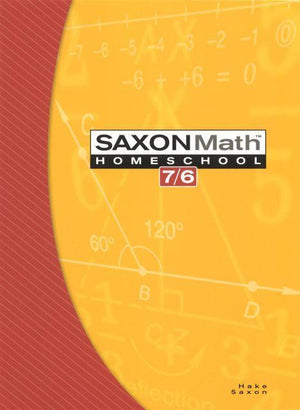 SAXON 7/6 HOMESCHOOL KIT