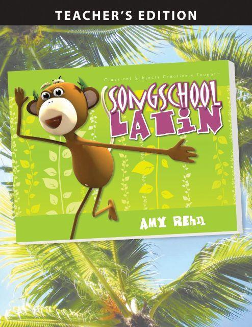 SONG SCHOOL LATIN BOOK 1 (TEACHER)
