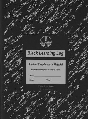 LEARNING LOG, BLACK