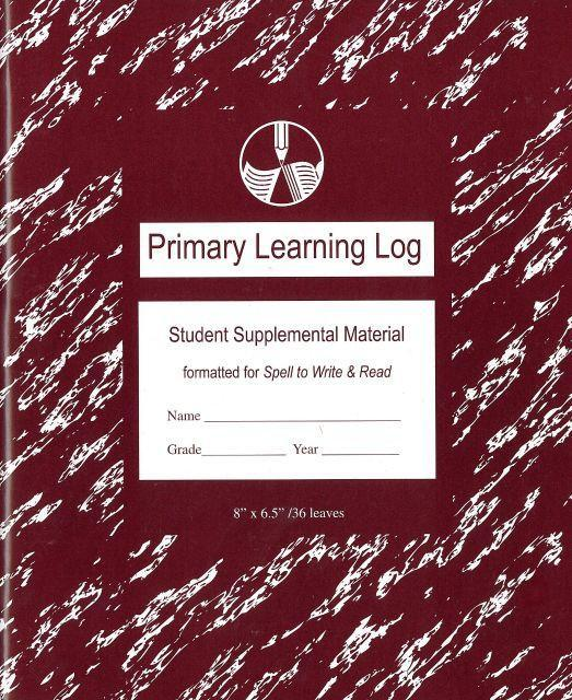 LEARNING LOG, PRIMARY