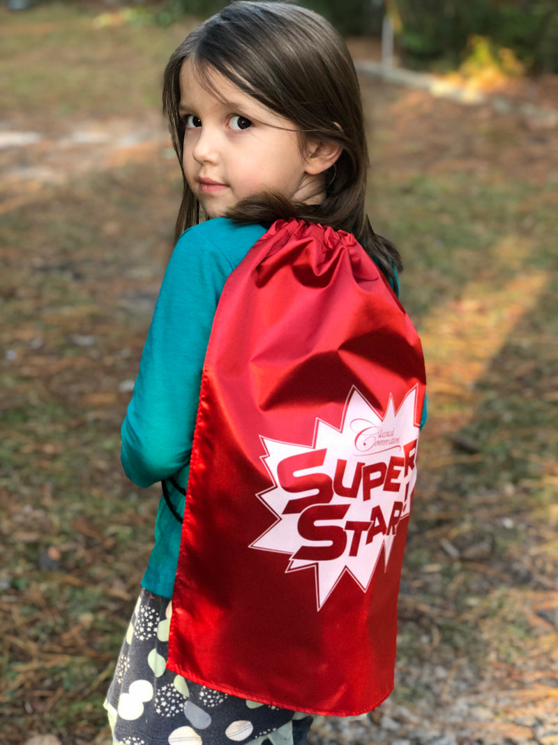 CC Super Star Cape & Backpack - While Supplies Last