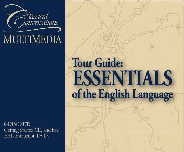 TOUR GUIDE: ESSENTIALS OF THE ENGLISH LANGUAGE (DVD)