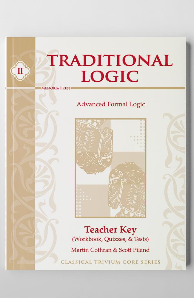 TRADITIONAL LOGIC II (KEY)