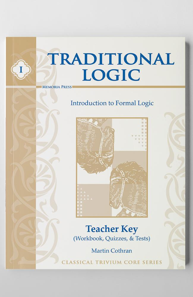 TRADITIONAL LOGIC I (KEY)