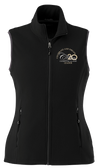Women's Team Leader Tyndall Microfleece Vest- Navy-Exclusive Leader Logo! - While Supplies Last