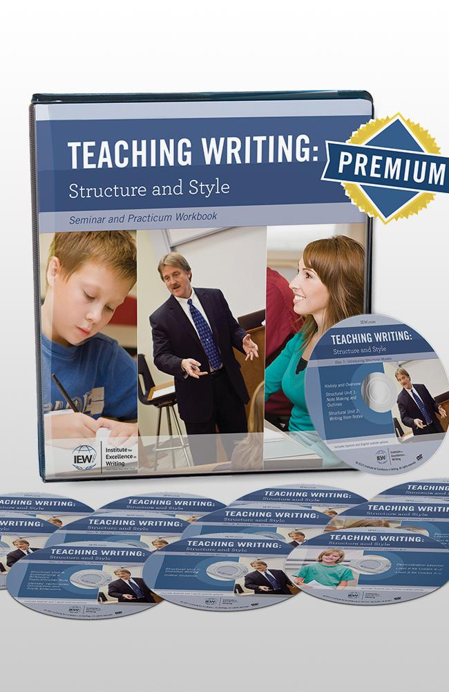 IEW TEACHING WRITING STRUCTURE AND STYLE (SYLLABUS, DVD & PREMIUM CONTENT)