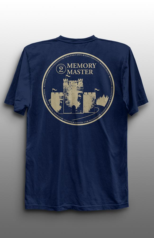 Cycle 2 Memory Masters T-Shirt- Adult - WHILE SUPPLIES LAST
