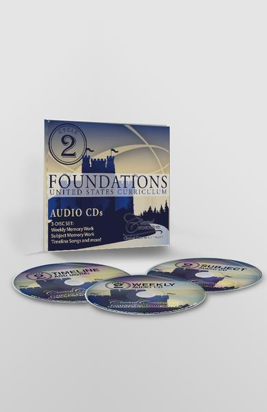 FOUNDATIONS AUDIO CDs, CYCLE 2