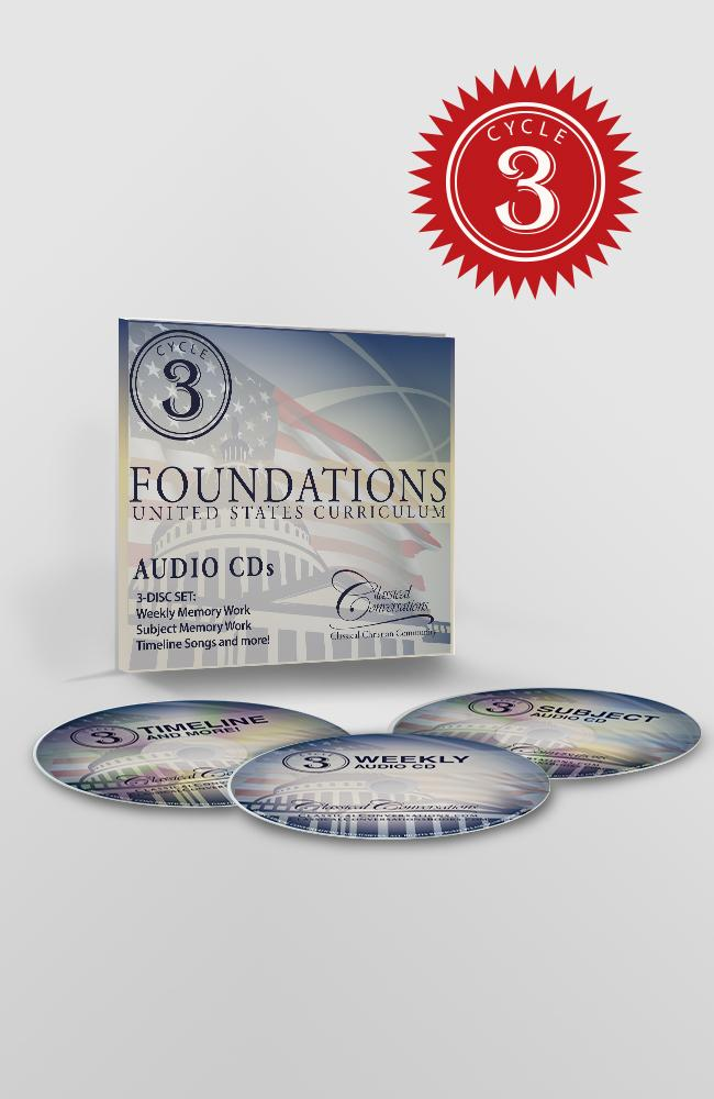 FOUNDATIONS AUDIO CDs, CYCLE 3