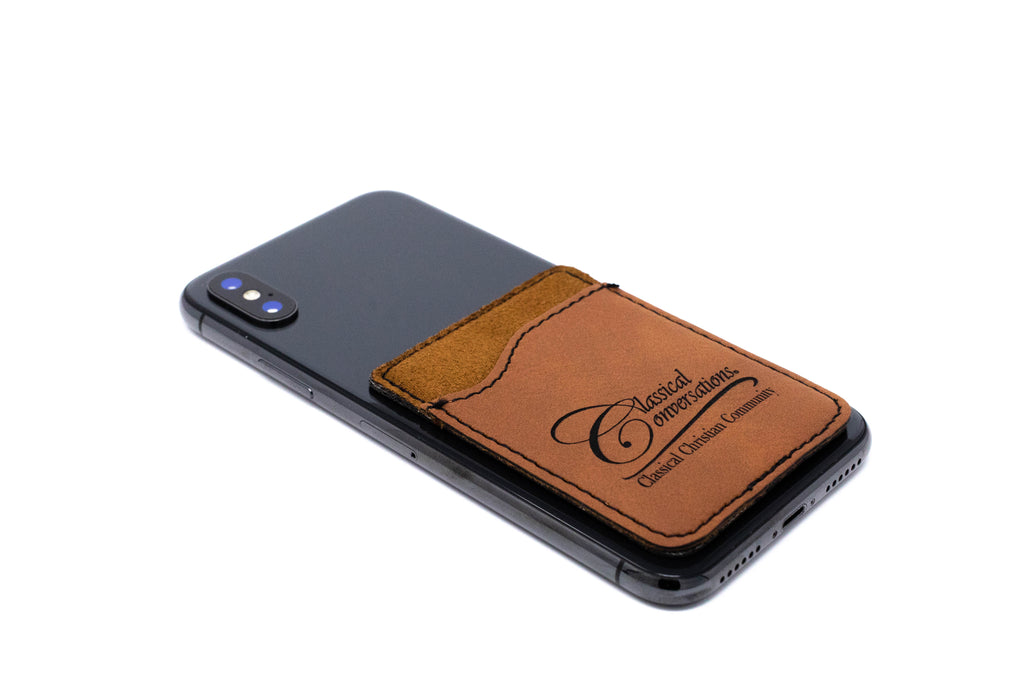 Leatherette Phone Wallet