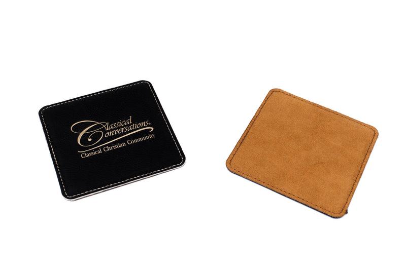 Leatherette Coaster- Single - WHILE SUPPLIES LAST