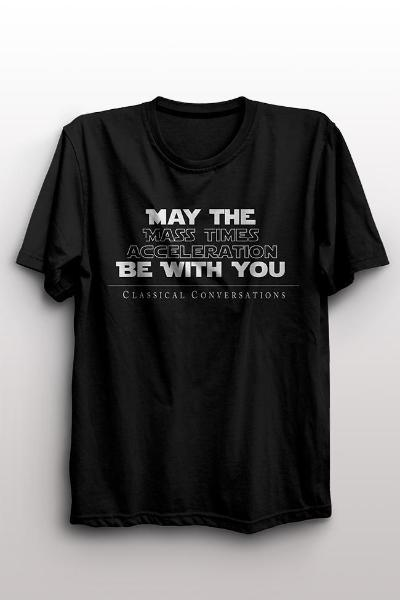 """May The Force Be With You"" Youth T-Shirt - limited quantities available"