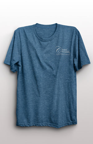 CC Heather Blue To Know God T-Shirt - While Supplies Last