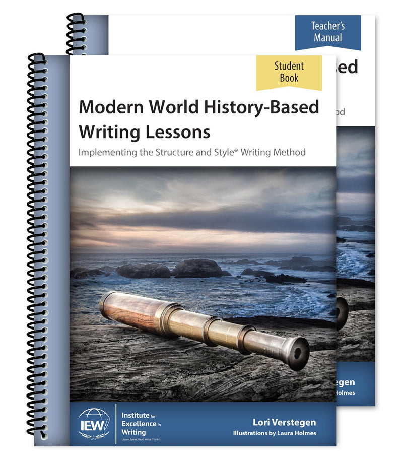 IEW MODERN HISTORY-BASED WRITING LESSONS (COMBO) - Cycle 1