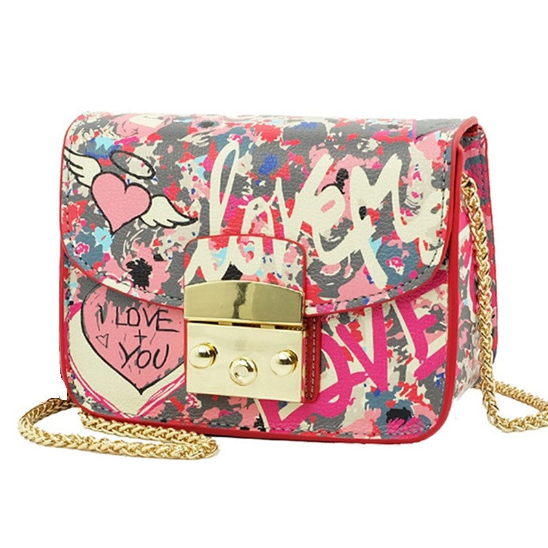 Love Graffiti Handbag