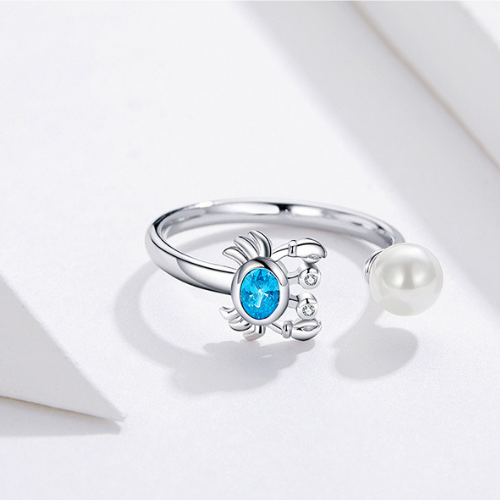 Blue Crab Ring
