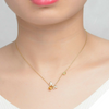 Natural Citrine Honeybee Necklace