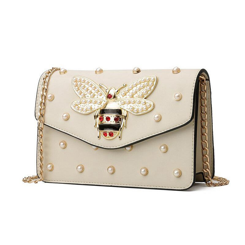 Rhinestone Bee Bag