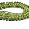 Natural Green Jade Bead Strands